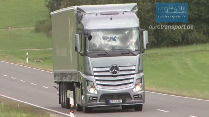 Actros-Video, München, Münsingen, September 2011