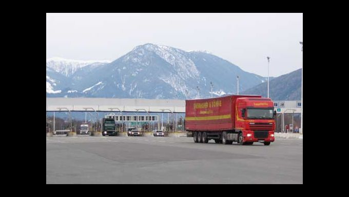 Am Brenner gilt das sektorale Fahrverbot.