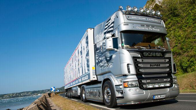 Bretagne-Express, Fernfahrer, Scania