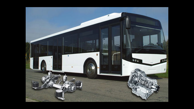Bus of the Year 2011 mit ZF-Technik