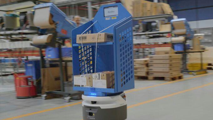 DHL, Roboter, autonom, Wärtsilä, Fetch Robotics