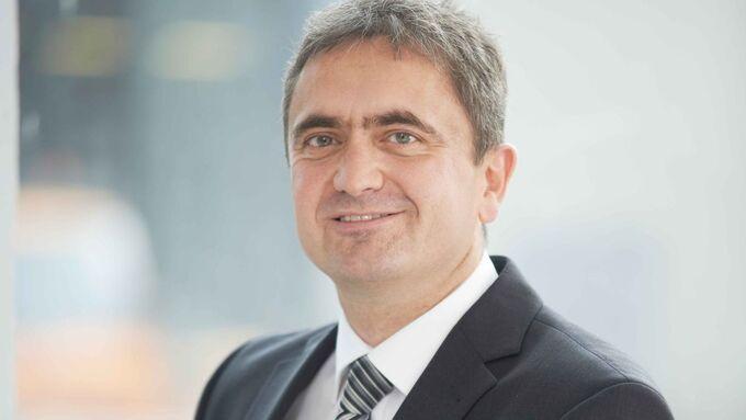 Dr. Uwe Lauber, Vorstandsvorsitzender von MAN Diesel Turbo