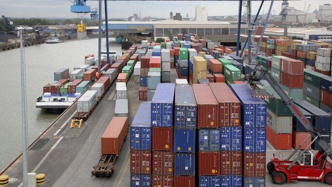 Duisport, Hafen, Container