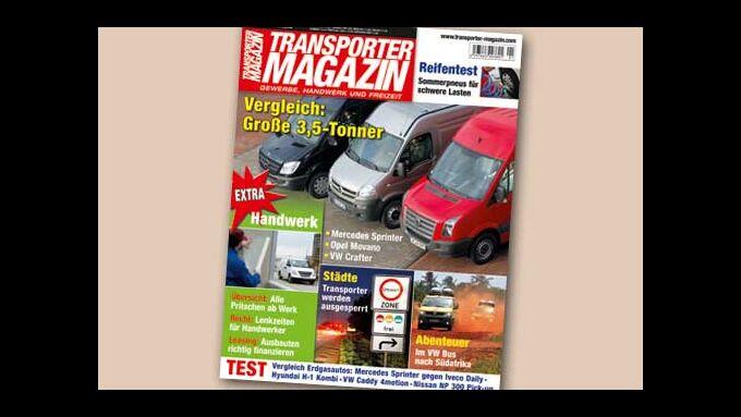 Endlich da: das neue Transporter Magazin