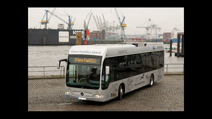 Hamburg testet Citaro Fuelcell