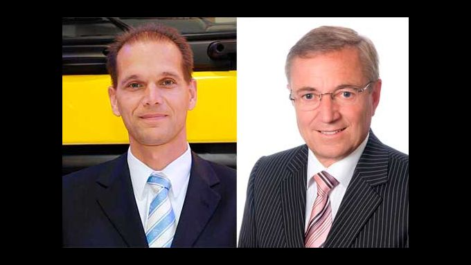 Jan van Keulen (links) und Werner Stein