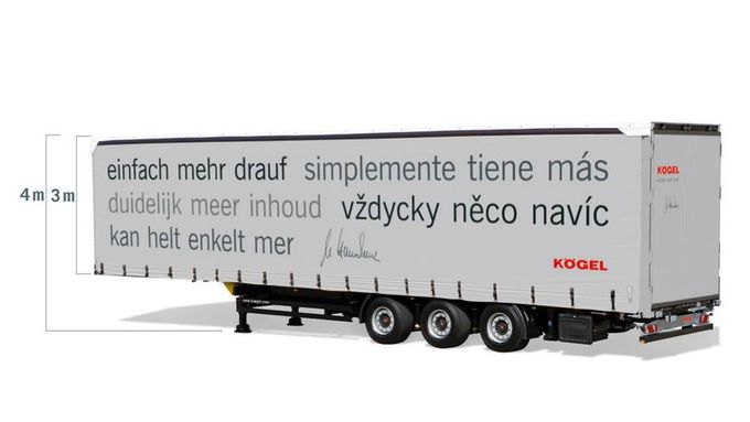 Koegel, Megaauflieger, Transport Logistic