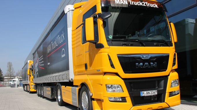 MAN, Platooning, Digitalisierung