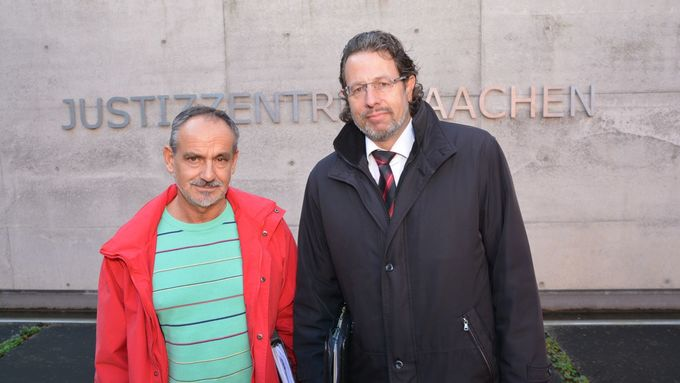 Mathias Mertens, Harry Binhammer, Fachanwalt für Arbeitsrecht (rechts)