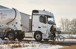 Mercedes-Benz Actros mit neuem Active Brake Assist 4 und Abbiege-Assistent
