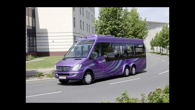 Mercedes Sprinter City 77 kommt