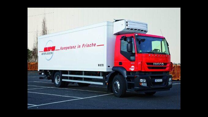 Meyer Logistik testet Erdgas-Lkw