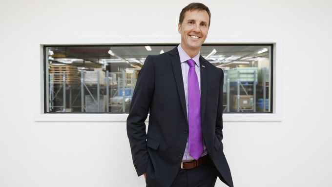 Michael Müller, Vorstandsvorsitzender Müller - Die lila Logistik