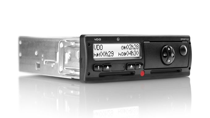 Neuer Digitaler Tachograph DTCO 2.0 mit optionaler Counterfunktion