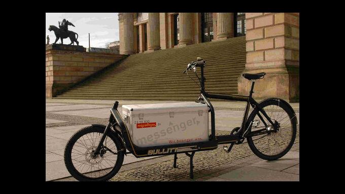 Preis für Berliner Kurierdienst Messenger