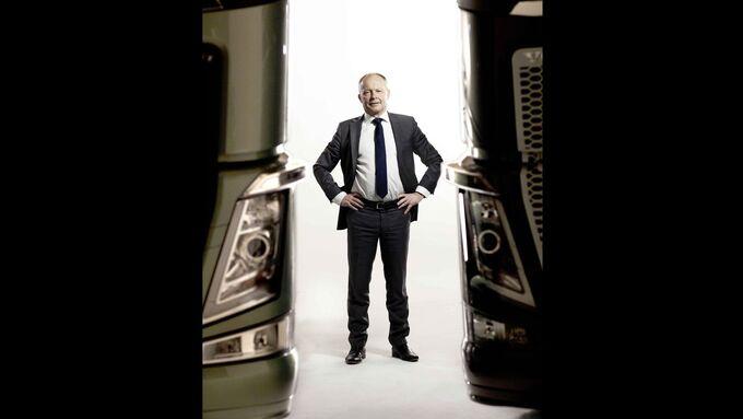 Premiere, Volvo FH, Volvo-Chef, Claes Nilsson