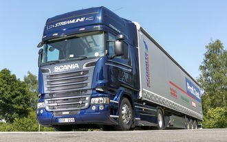 scania tests eurotransport. Black Bedroom Furniture Sets. Home Design Ideas