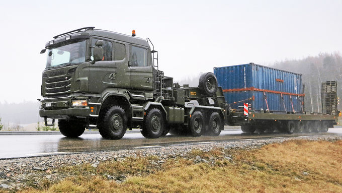 Scania R730 8x8 HET, Fahrbericht