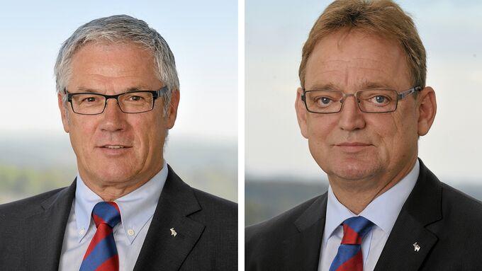 Schmitz Cargobull-Vorstände Ulrich Schümer und Ulrich Schöpker