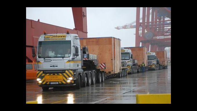 Stückgutnetzwerk bis 80 Tonnen startet
