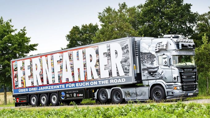 Supertruck-Scania R560 Breizh Thermo