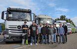 Truck Clinic Wörth mit BKF-Azubis, Prototypen-Erprobung, Entwicklungs-  Versuchszentrum, Daimler. Fotos von Daimler freigegeben.
