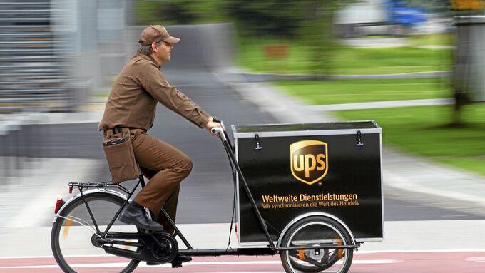 UPS Lastenrad