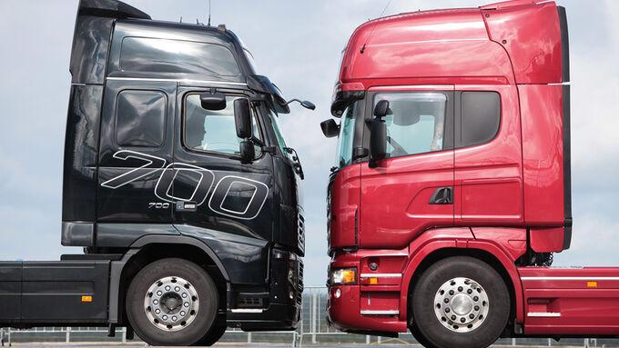 Volvo, FH16, Scania, R730, Vergleichstest