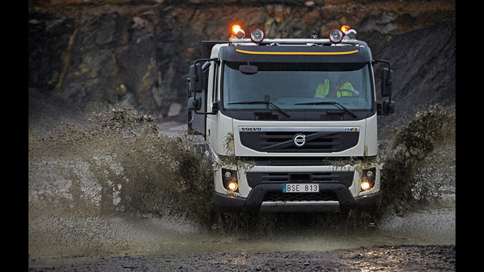 Volvo im Geländegang