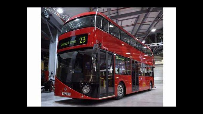 eue Infos zum Londoner Doppeldecker-Bus