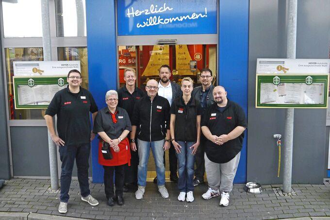 Autohof Hamburg Süd, Hoyer, Fahrer, Johann, Renner