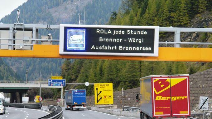 Brenner, Rollende Landstraße, Bezold