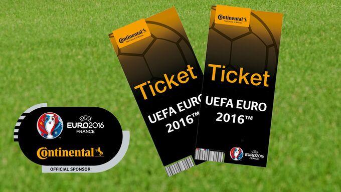 Continental Tickets Europameisterschaft, Fußball
