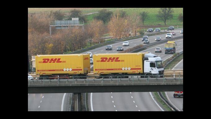 DHL hebt die Prognose für 2010 an