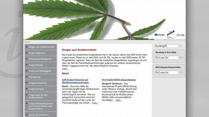 DVR, Homepage, Drogen