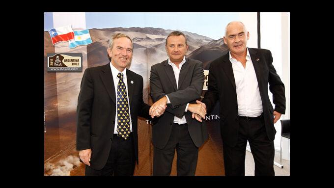 Dakar 2011 in Südamerika