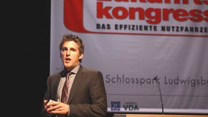 Eric Lindzus, Produktmanagement Innovative Antriebe, Bosch Rexroth, lao-Zukunftskongress 2011