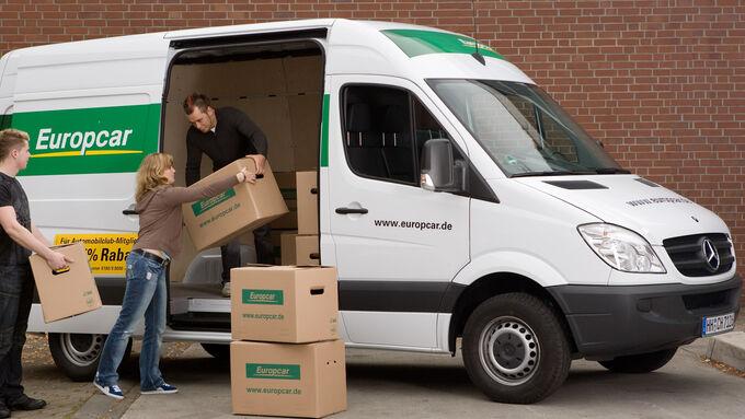 Europcar: Kostenloses Navi zum Lkw