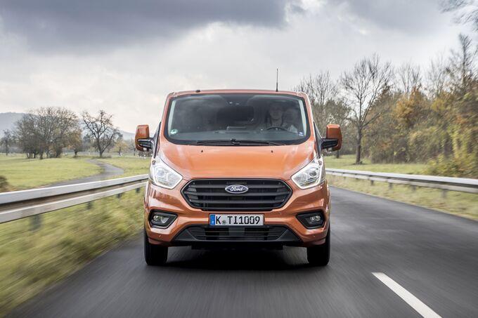 Ford Transit Custom 2018 Facelift