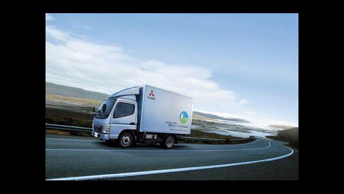 Fuso verkauft 1.000sten Canter Eco Hybrid
