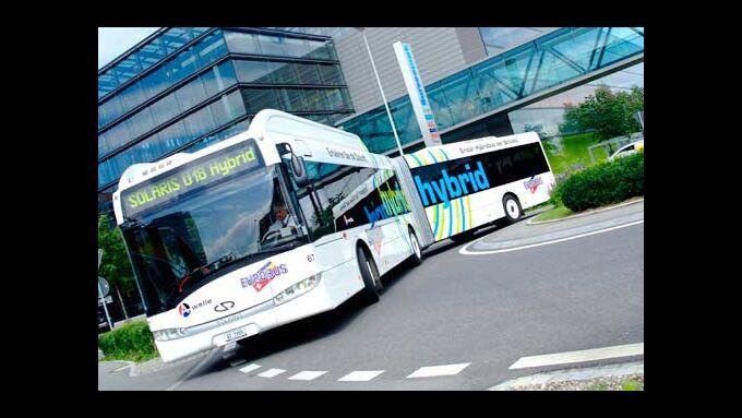 Hybridliner von Eurobus