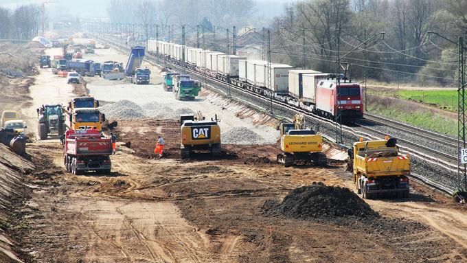 Investitionen in die Infrastruktur