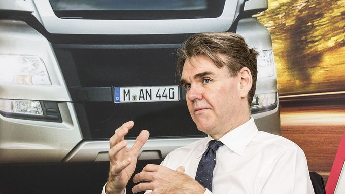 Joachim Drees, Vorstandsvorsitzender von MAN