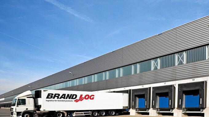 Kooperation, Brand, Log