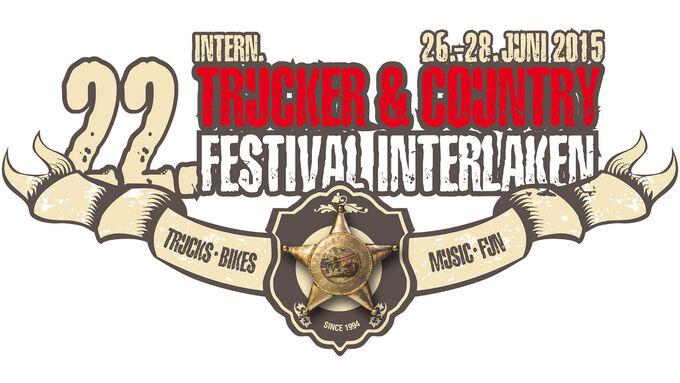 Logo des 22. Internationales Trucker Country Festival Interlaken