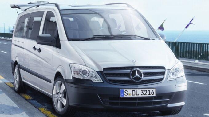 Mercedes-Benz Vito in zwei Varianten