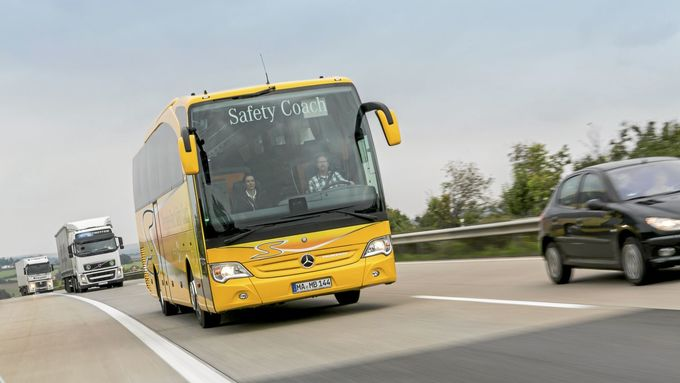 Mercedes Travego Safety Coach