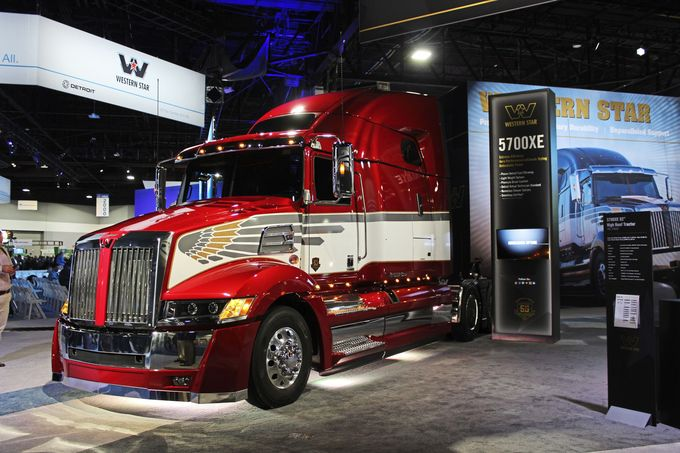 NACV Messe 2017 USA Atlanta US Trucks