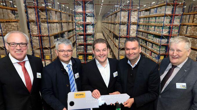 Noerpel eröffnet Logistikanlage in Elsdorf.