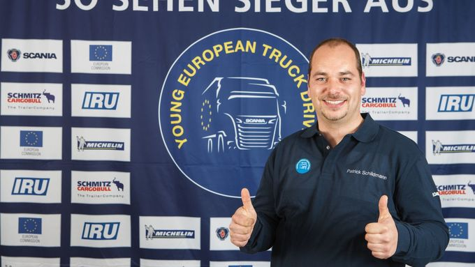 Patrick Schildmann, Young European Truck Driver Deutschlands